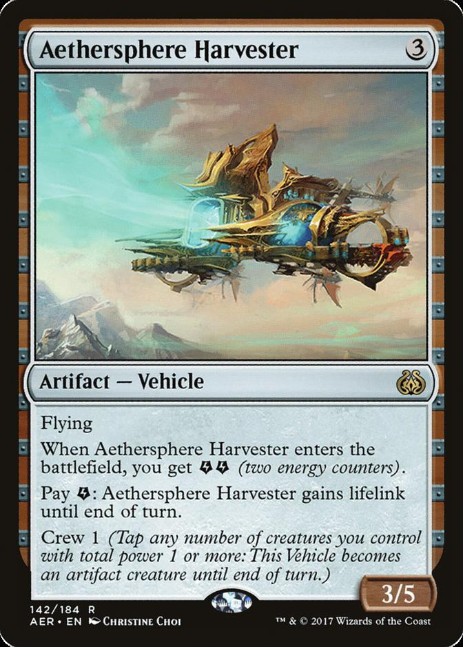 Aethersphere Harvester [AER]