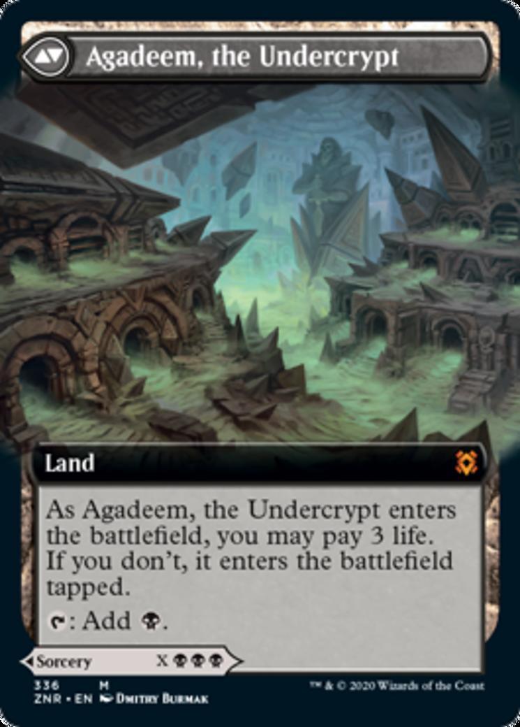 Agadeem, the Undercrypt [PZNR]