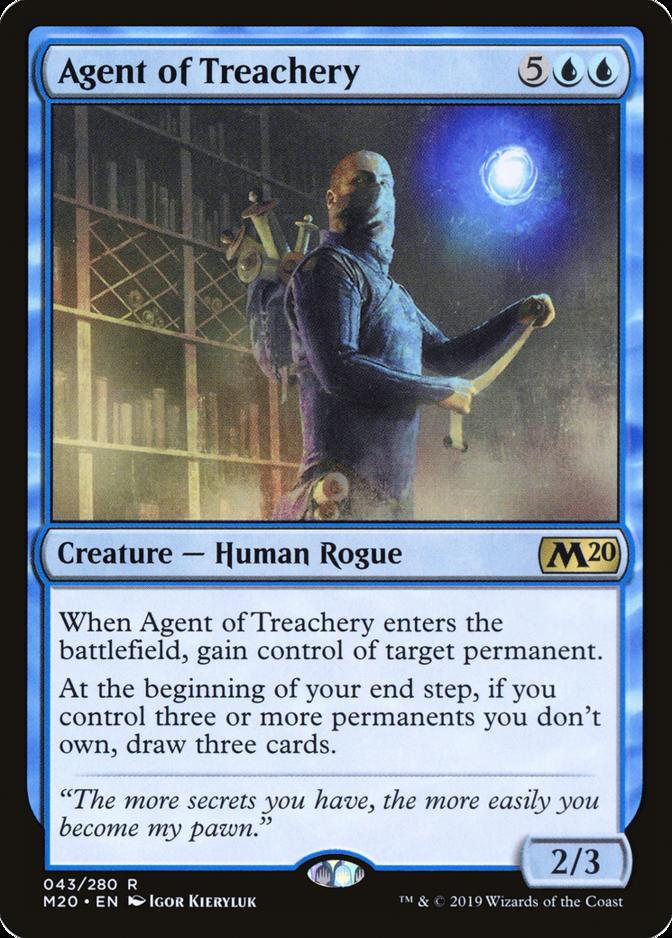 Agent of Treachery [M20]