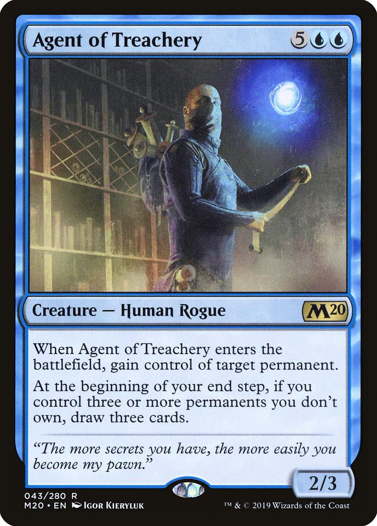 Agent of Treachery [M20]