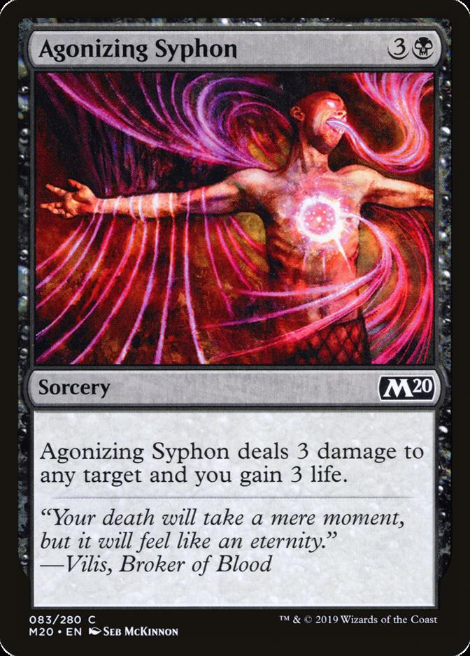 Agonizing Syphon [M20]