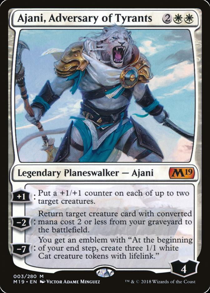 Ajani, Adversary of Tyrants [M19]