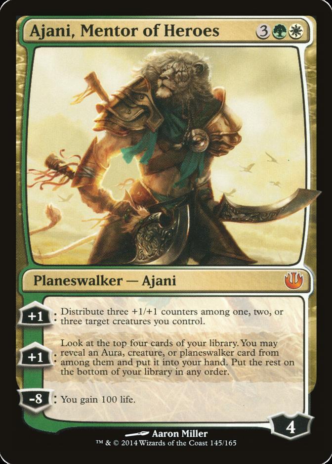 Ajani, Mentor of Heroes [JOU]