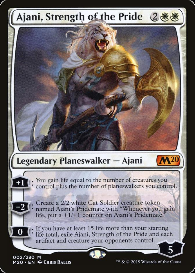 Ajani, Strength of the Pride [M20]