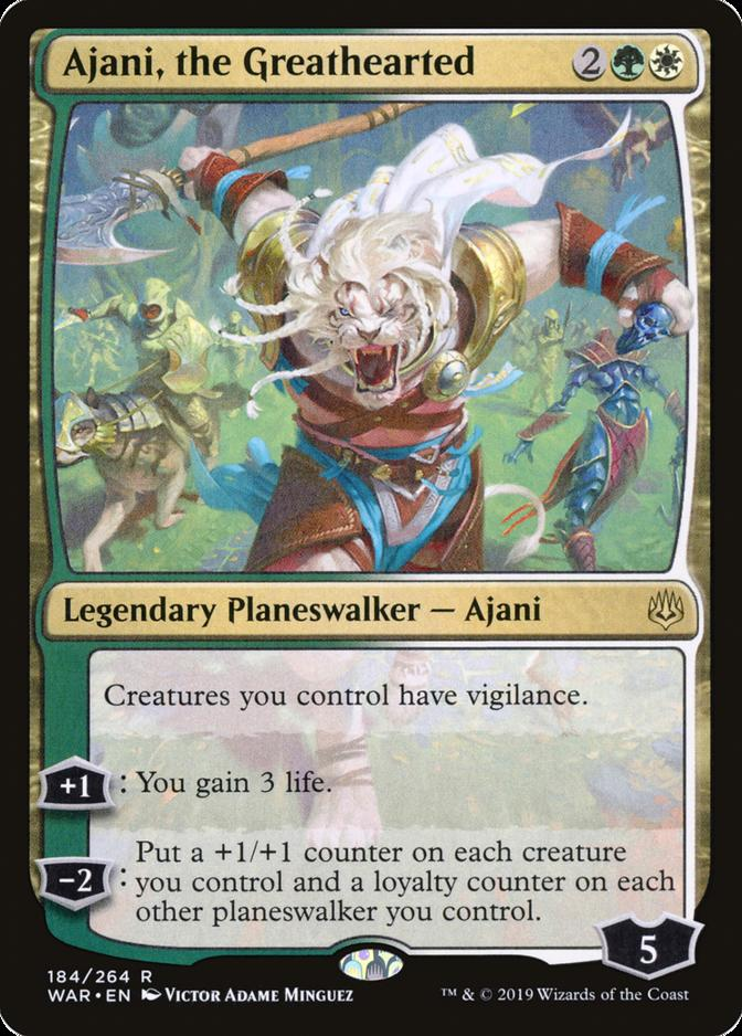 Ajani, the Greathearted [WAR]