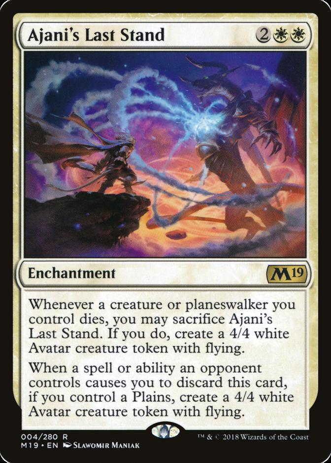 Ajani's Last Stand [M19]