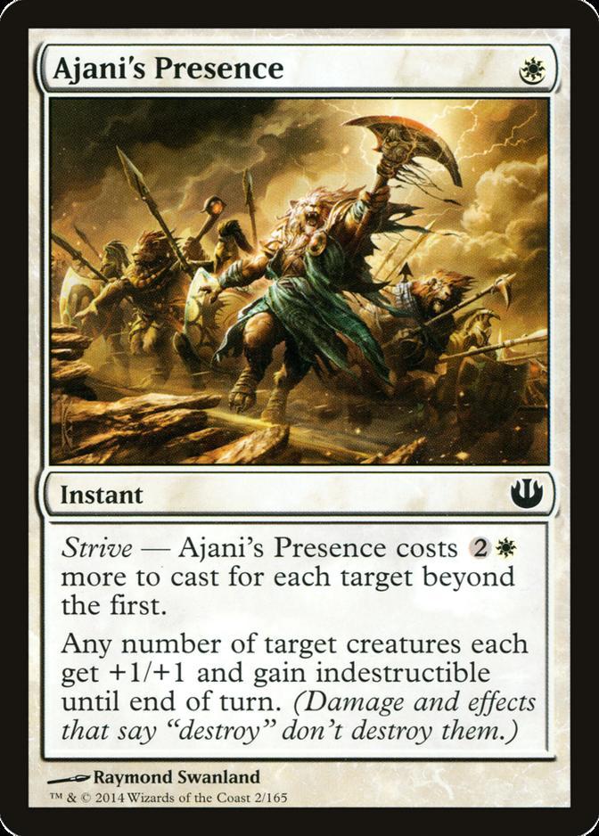Ajani's Presence [JOU]