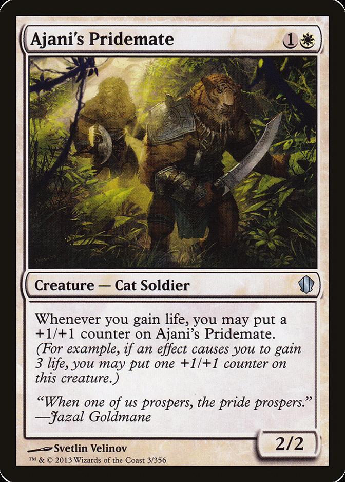 Ajani's Pridemate [C13]