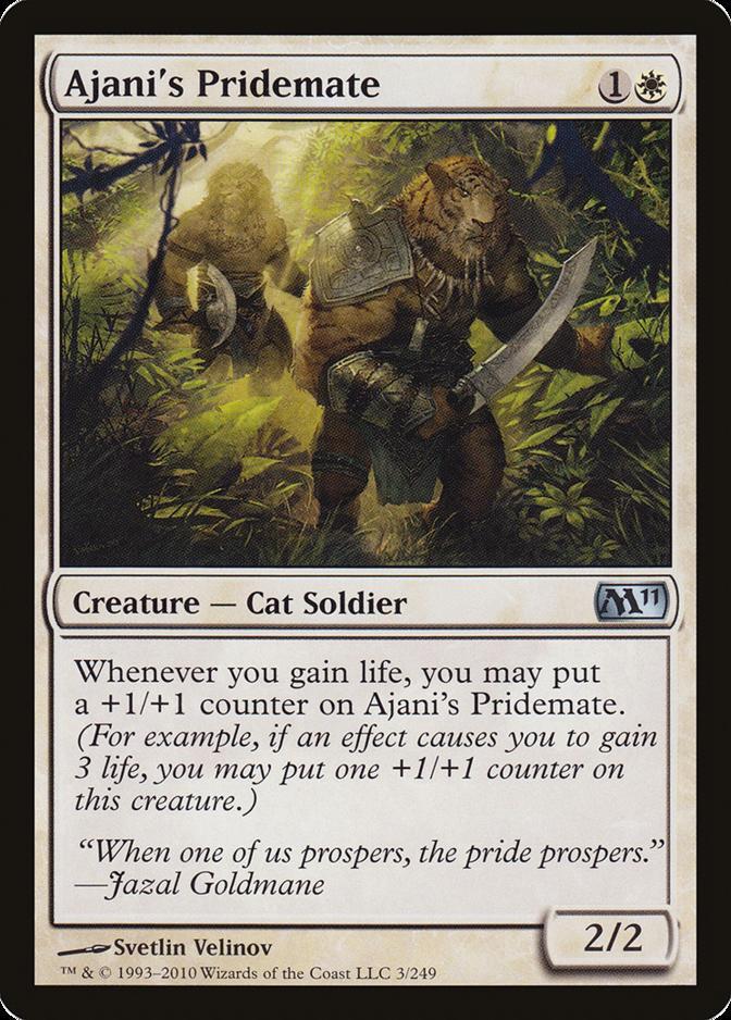 Ajani's Pridemate [M11]