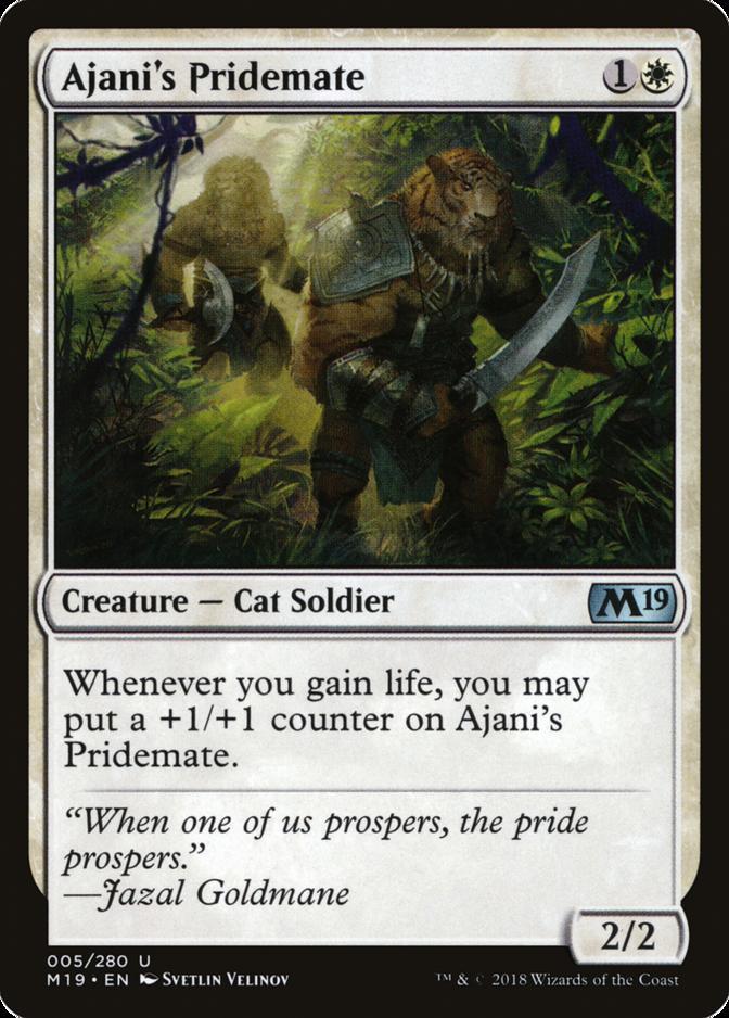 Ajani's Pridemate [M19]
