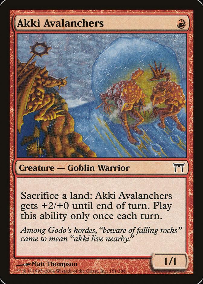 Akki Avalanchers [CHK]