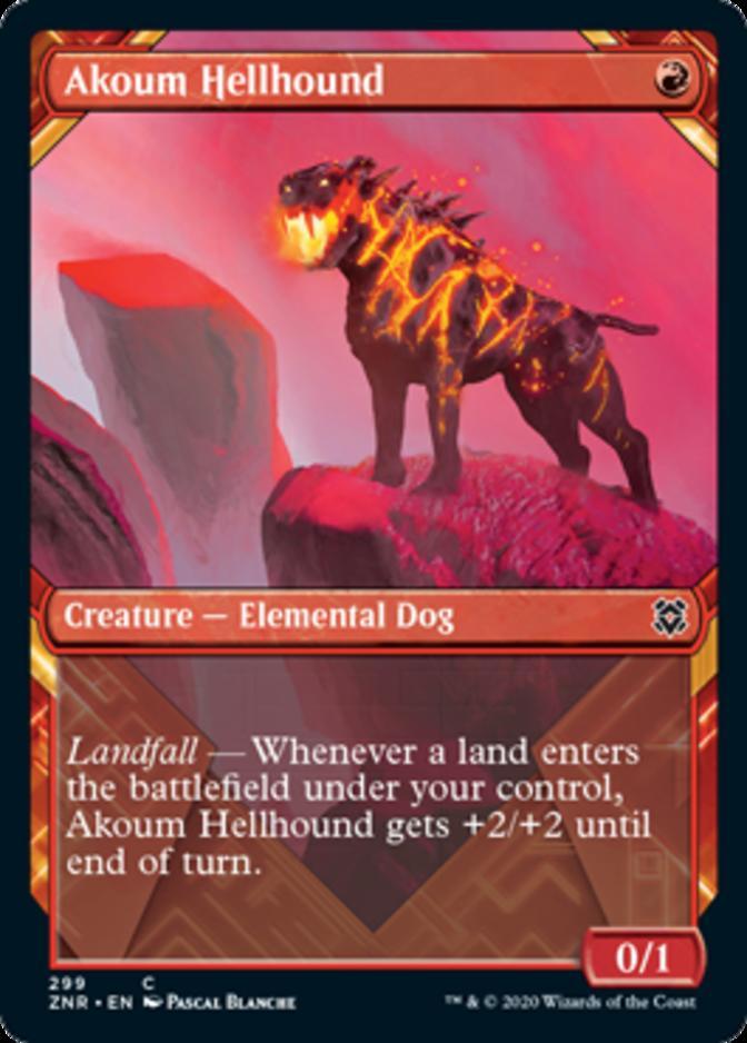 Akoum Hellhound [PZNR]