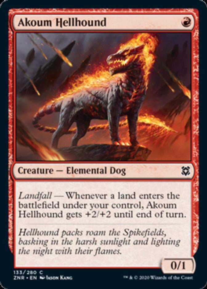 Akoum Hellhound [ZNR]