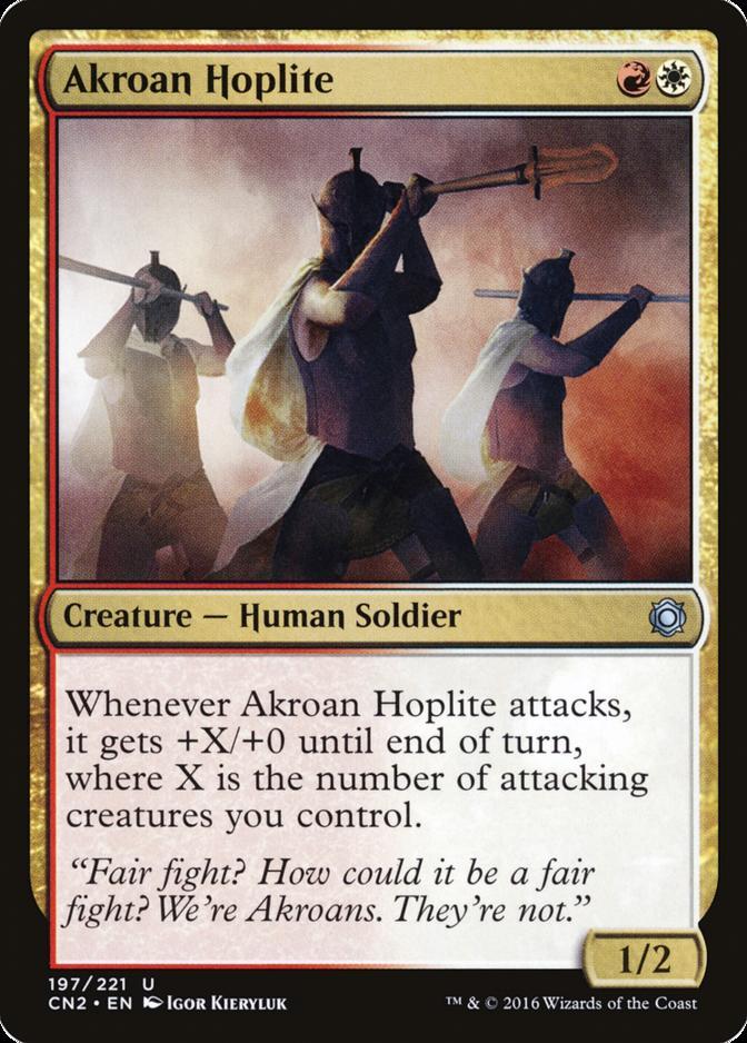 Akroan Hoplite [CN2]