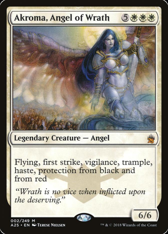 Akroma, Angel of Wrath [A25] (F)