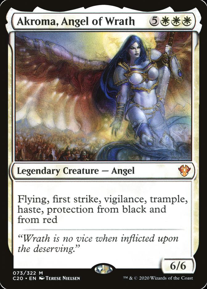 Akroma, Angel of Wrath [C20]