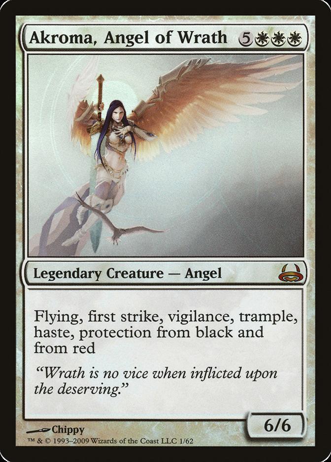 Akroma, Angel of Wrath [DDC] (F)
