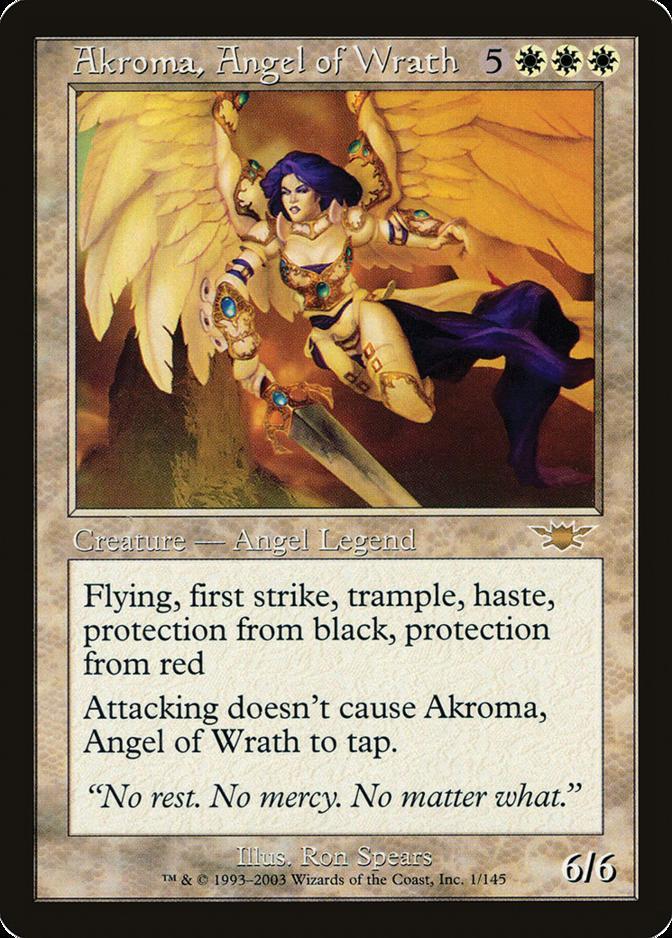Akroma, Angel of Wrath [LGN]