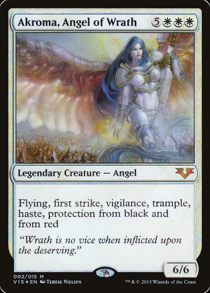 Akroma, Angel of Wrath [V15] (F)
