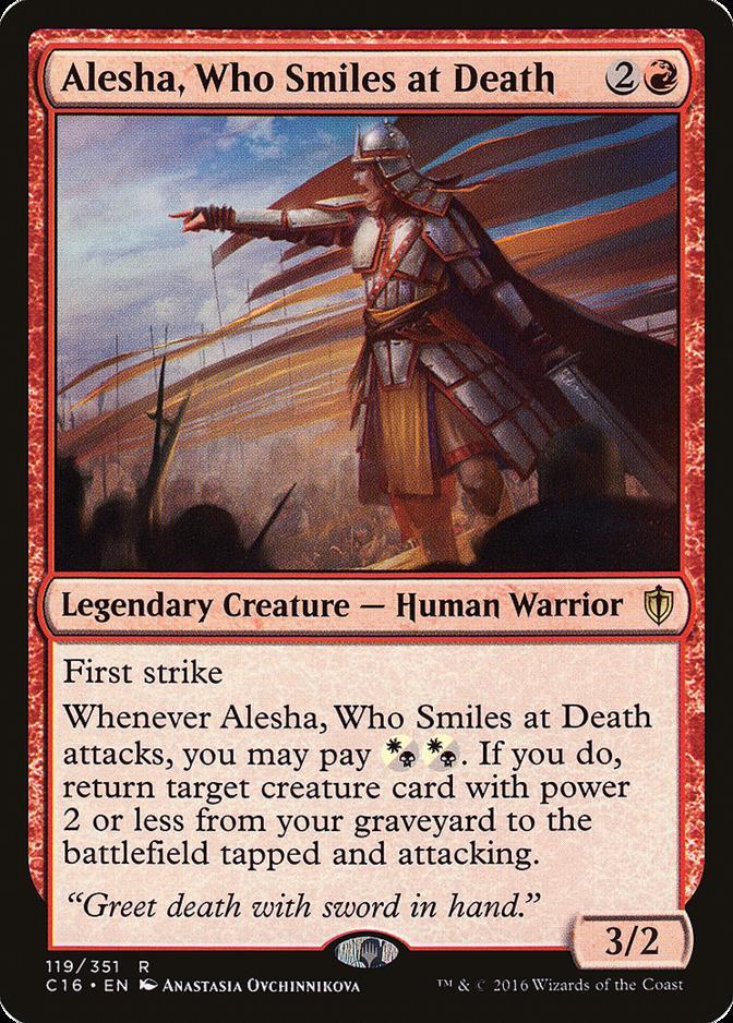 Alesha, Who Smiles at Death [C16]