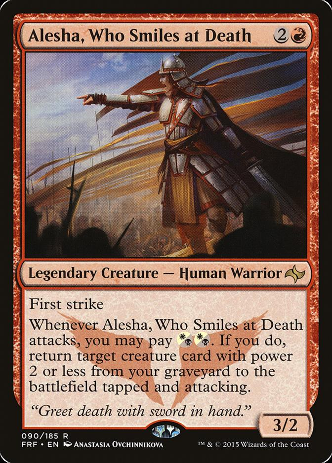 Alesha, Who Smiles at Death [FRF] (F)