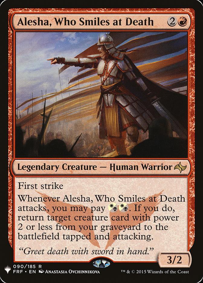 Alesha, Who Smiles at Death [MB1]