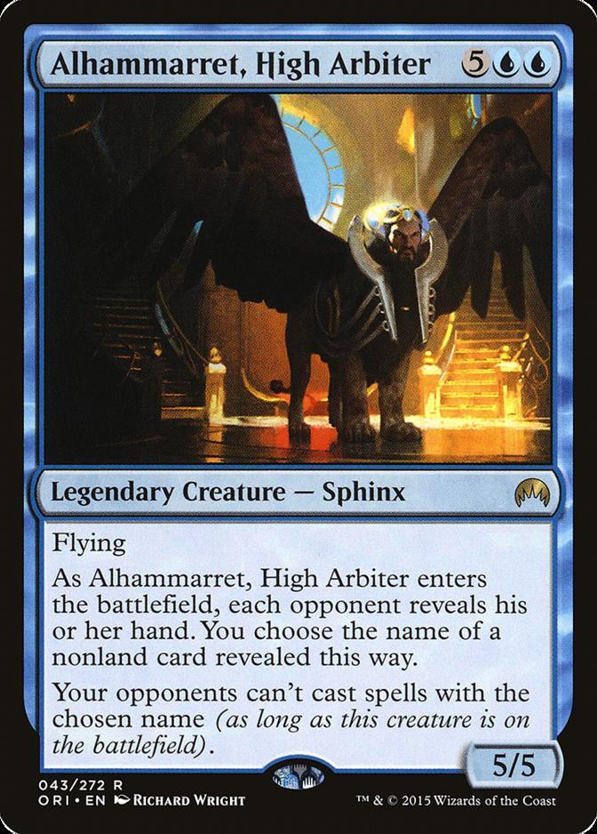 Alhammarret, High Arbiter [ORI]