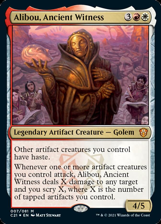 Alibou, Ancient Witness [C21] (F)