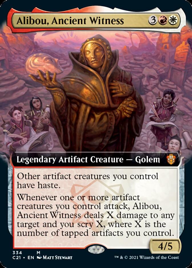 Alibou, Ancient Witness <extended> [C21]