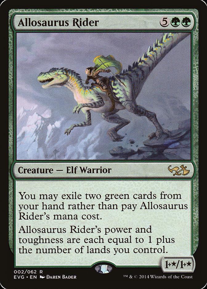 Allosaurus Rider [EVG]