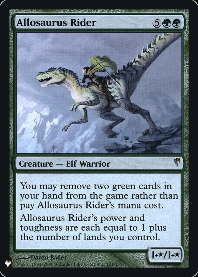 Allosaurus Rider [FMB1] (F)
