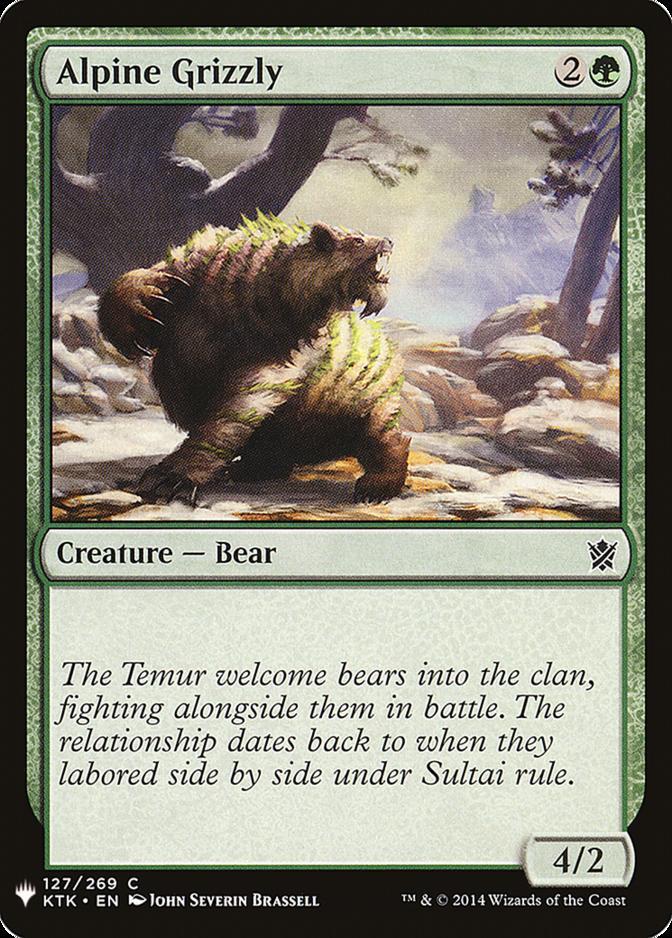 Alpine Grizzly [MB1]