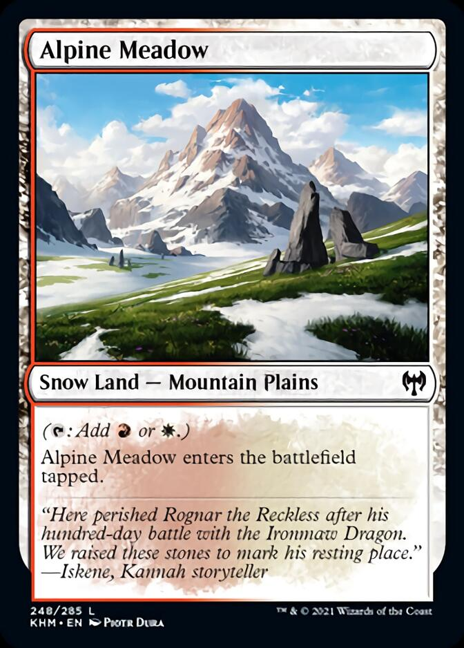 Alpine Meadow [KHM]