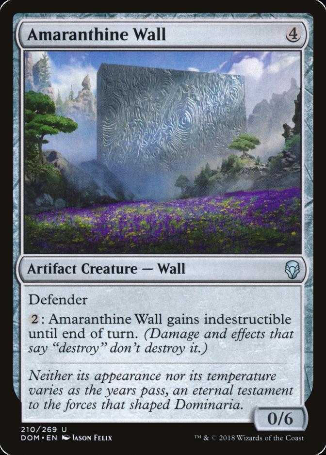 Amaranthine Wall [DOM]