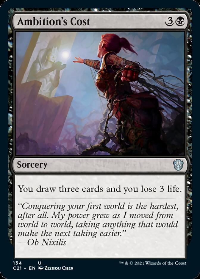 Ambition's Cost [C21]