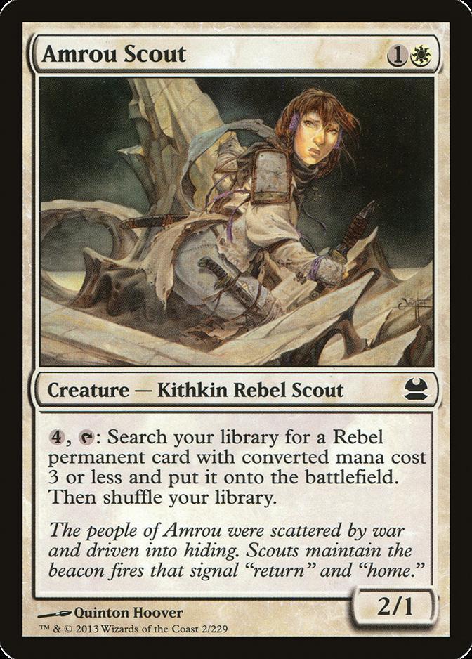 Amrou Scout [MMA]
