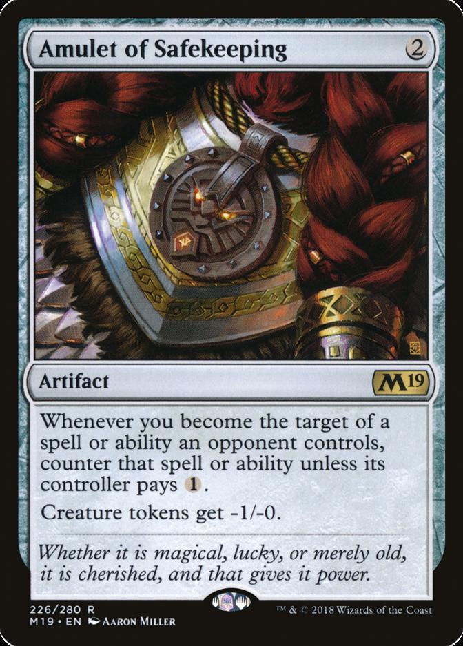 Amulet of Safekeeping [M19]