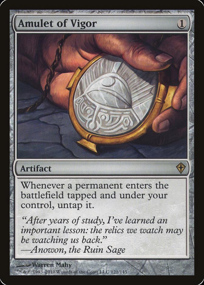 Amulet of Vigor [WWK] (F)