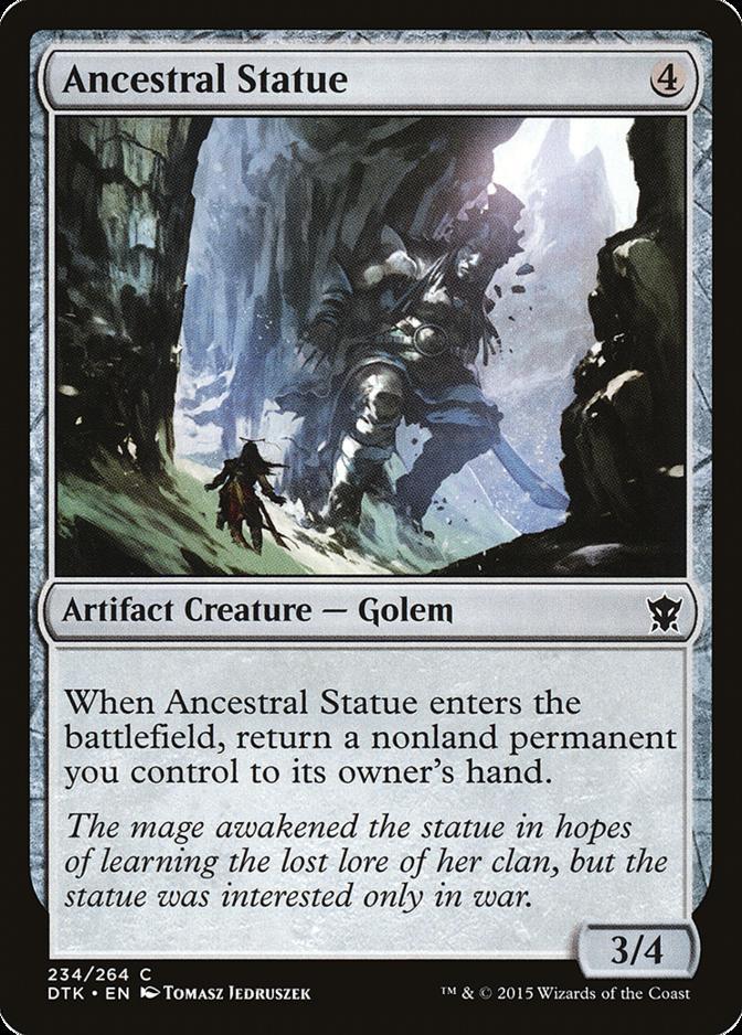 Ancestral Statue [DTK]