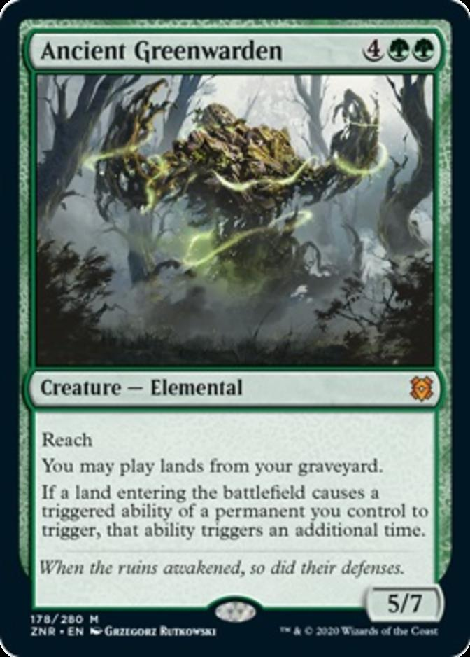 Ancient Greenwarden [ZNR]