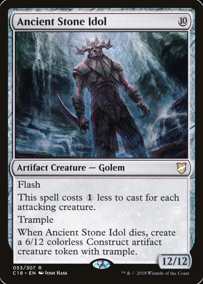 Ancient Stone Idol [C18]