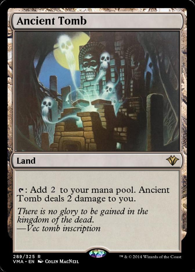 Ancient Tomb [VMA] (F)