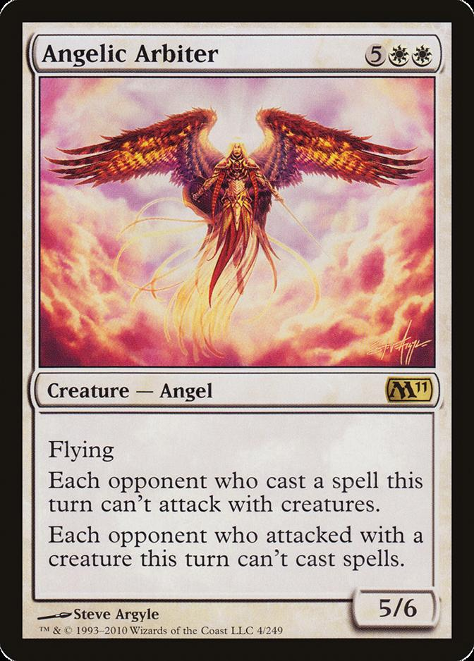 Angelic Arbiter Foil new MTG M11 Magic