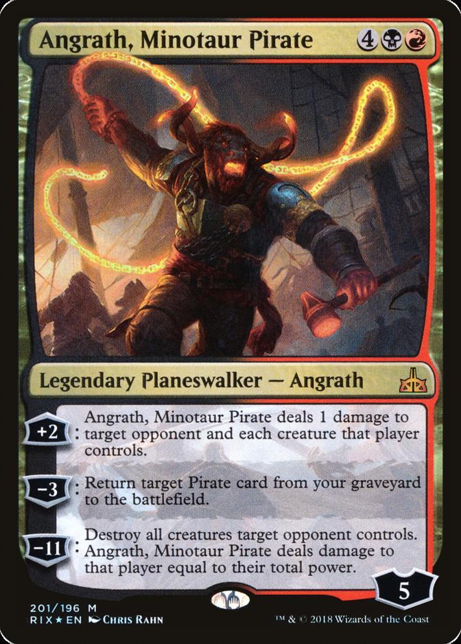 Angrath, Minotaur Pirate [RIX] (F)