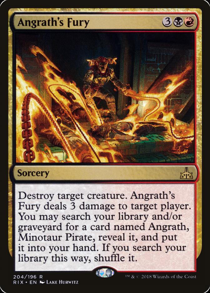 Angrath's Fury [RIX]