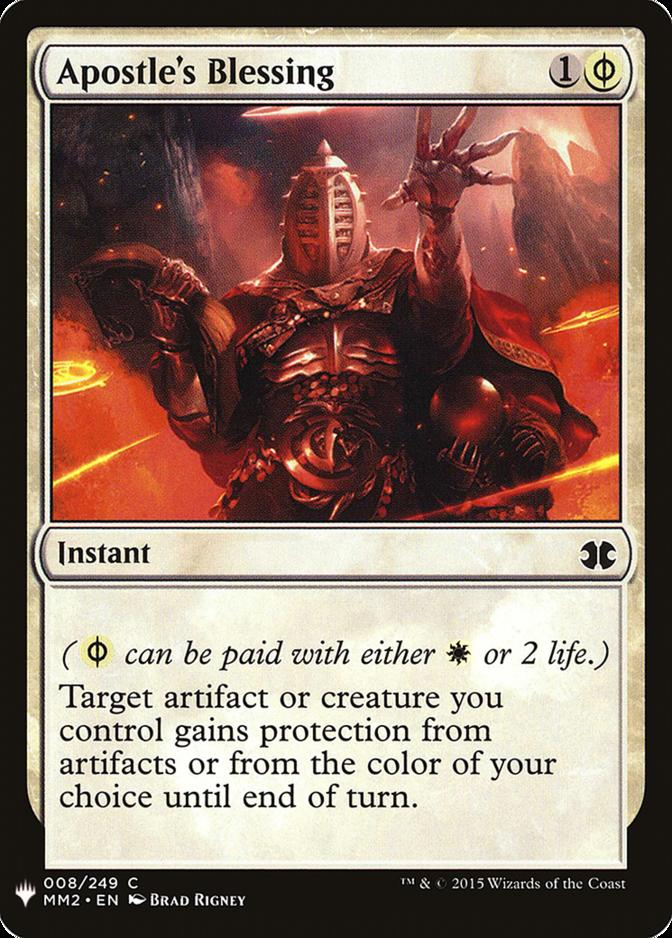 Apostle's Blessing [MB1]