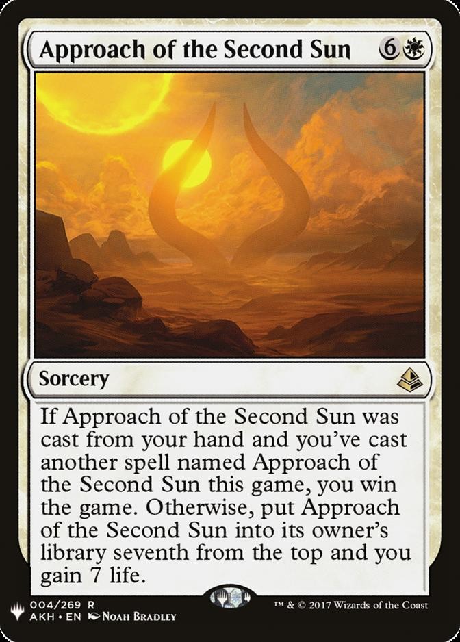 Approach of the Second Sun [MB1]