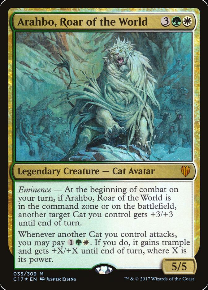 Arahbo, Roar of the World [C17] (F)