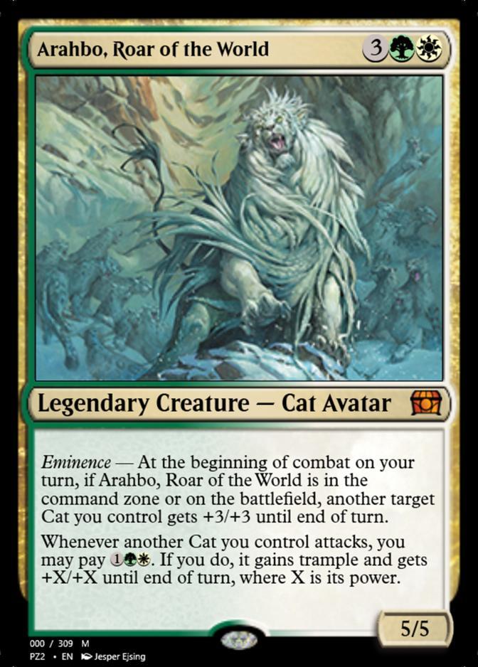 Arahbo, Roar of the World [PZ2]