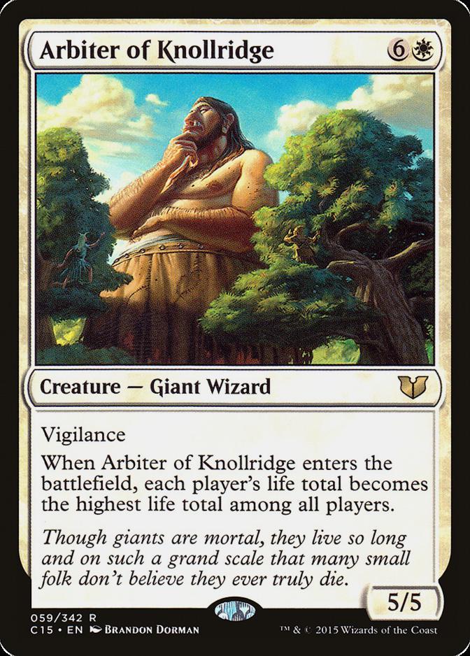 Arbiter of Knollridge [C15]